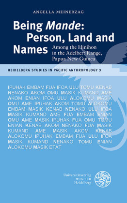 Being 'Mande': Person, Land and Names