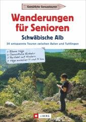 Wanderungen für Senioren Schwäbische Alb Cover