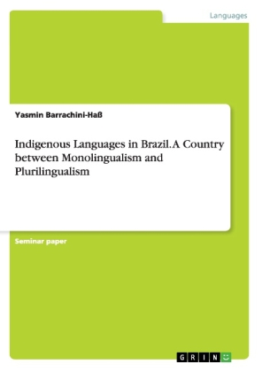 Indigenous Languages in Brazil. A Country between Monolingualism and Plurilingualism