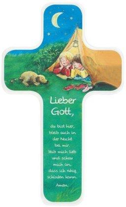 Gute-Nacht-Gebet, Kinderholzkreuz