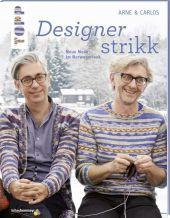 Designerstrikk Cover