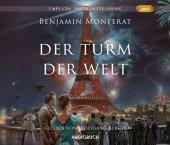 Der Turm der Welt, 3 MP3-CDs Cover