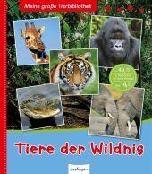 Meine große Tierbibliothek - Tiere der Wildnis Cover