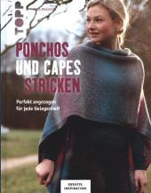 Ponchos und Capes stricken Cover