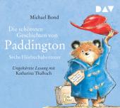 Die schönsten Geschichten von Paddington - Sechs Hörbuchabenteuer, 1 Audio-CD Cover