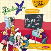 Die Tintenkleckser - Mattis haut ab, 1 Audio-CD Cover