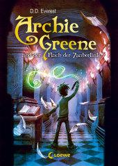 Archie Greene und der Fluch der Zaubertinte Cover