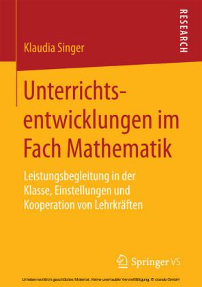 Unterrichtsentwicklungen im Fach Mathematik