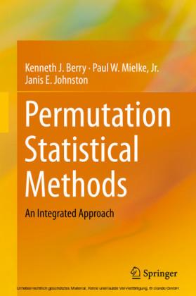 Permutation Statistical Methods