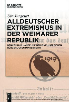 Alldeutscher Extremismus in der Weimarer Republik