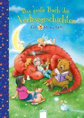 Das große Buch der Vorlesegeschichten für 3 Minuten Cover
