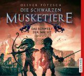 Die schwarzen Musketiere - Das Schwert der Macht, 1 Audio-CD