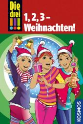 Die drei !!! - 1,2,3 - Weihnachten! Cover
