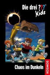 Die drei ???-Kids - Chaos im Dunkeln Cover