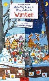 Mein Tag & Nacht Wimmelbuch Winter Cover