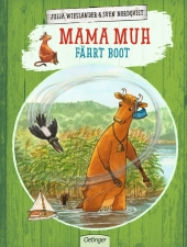 Mama Muh fährt Boot Cover