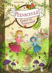 Die Feenschule. Zauber im Purpurwald Cover