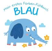 Mein erstes Farben-Fühlbuch - Blau Cover