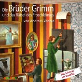 Die Brüder Grimm und das Rätsel des Froschkönigs, 1 Audio-CD Cover