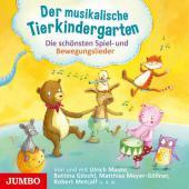 Der musikalische Tierkindergarten, 1 Audio-CD Cover