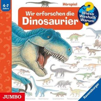 Wir erforschen die Dinosaurier, Audio-CD