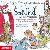 Snöfrid aus dem Wiesental - Die ganz und gar unglaubliche Reise zu den Nebelinseln, 3 Audio-CDs Cover
