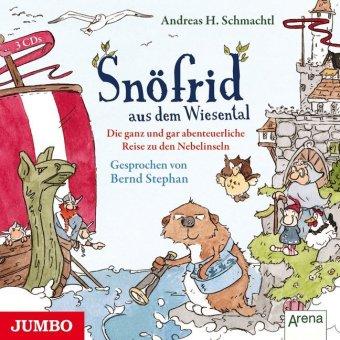 Snöfrid aus dem Wiesental - Die ganz und gar unglaubliche Reise zu den Nebelinseln, 3 Audio-CDs