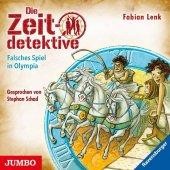 Die Zeitdetektive - Falsches Spiel in Olympia, 1 Audio-CD Cover