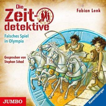 Die Zeitdetektive - Falsches Spiel in Olympia, 1 Audio-CD