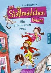 Die Stallmädchenbande - Ein affenstarkes Pony Cover