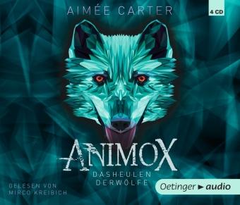 Animox 1. Das Heulen der Wölfe, 4 Audio-CD