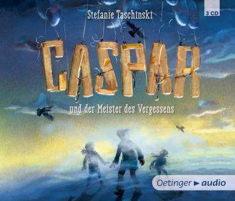 Caspar und der Meister des Vergessens, 3 Audio-CDs