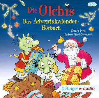 Die Olchis. Das Adventskalender-Hörbuch, 2 Audio-CD