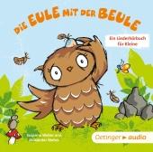 Die Eule mit der Beule, 1 Audio-CD Cover