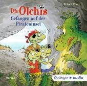 Die Olchis - Gefangen auf der Pirateninsel, 2 Audio-CDs Cover