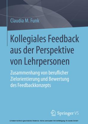 Kollegiales Feedback aus der Perspektive von Lehrpersonen