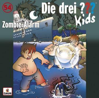 Die drei ???-Kids - Zombi-eAlarm, 1 Audio-CD