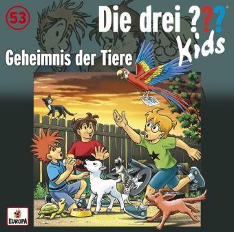 Die drei ???-Kids - Geheimnis der Tiere, 1 Audio-CD