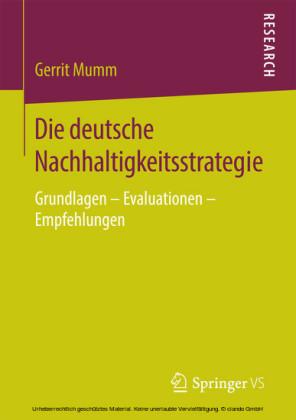 Die deutsche Nachhaltigkeitsstrategie