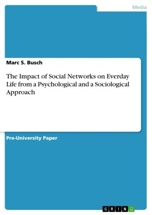 The Impact of Social Networks on Everday Life from a Psychological and a Sociological Approach