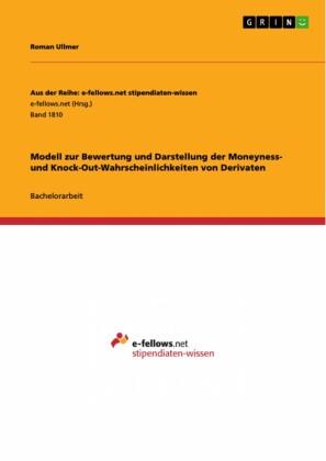 Modell zur Bewertung und Darstellung der Moneyness- und Knock-Out-Wahrscheinlichkeiten von Derivaten