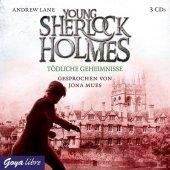 Young Sherlock Holmes - Tödliche Geheimnisse, 3 Audio-CDs Cover