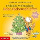 Fröhliche Weihnachten, Bobo Siebenschläfer, Audio-CD Cover