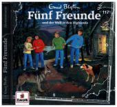 Fünf Freunde und der Wolf in den Highlands, 1 Audio-CD