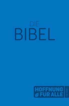 Hoffnung für alle. Die Bibel - Softcover-Edition blau