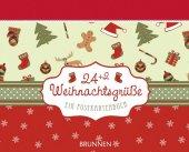 24+2 Weihnachtsgrüße, Aufstellbuch Cover