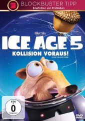 Ice Age 5 - Kollision voraus!, 1 DVD Cover