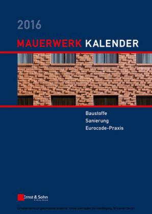 Mauerwerk-Kalender 2016