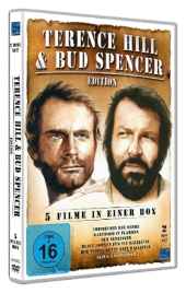Terence Hill & Bud Spencer Special Edition, 2 DVDs Cover