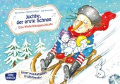 Juchhe, der erste Schnee. Eine Winterklanggeschichte, Kamishibai Bildkartenset m. Audio-CD